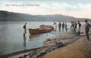Oregon Seine Fishing On The Columbia River