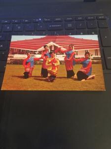 Vintage Postcard: Dance, Graceful North Thailand