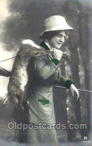 Sports, Gun, Rifle, Hunting Postcard Postcards Unused