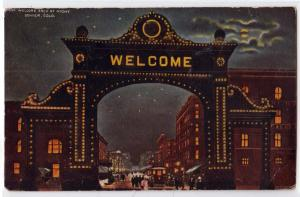 Welcome Arch, Denver CO