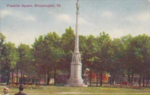 Illinois Bloomington Franklin Square