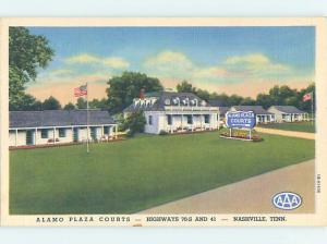 Unused Linen MOTEL SCENE Nashville Tennessee TN G7376-12