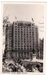 RPPC, Santiago Chile, Hotel Carrera