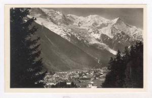 RP  CHAMONIX, Vue Generale et le Mont-Blanc, 30-50s