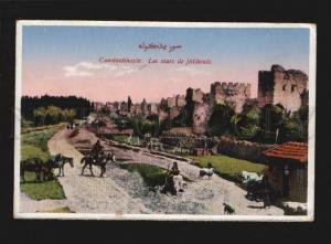 077374 TURKEY CONSTANTINOPLE sept murs Jedikoule Vintage PC
