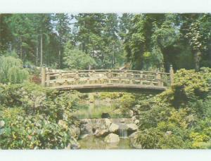 Unused Pre-1980 BRIDGE SCENE Portland Oregon OR HQ9325