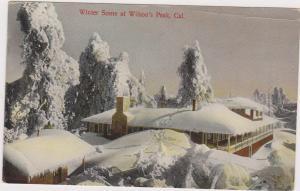 Winter scene at Wilson's Peak, California, 00-10s