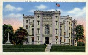 Old Louisiana State Capitol  Baton Rouge LA Unused