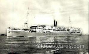 MS Sibajak Steamer Ship Ships Old Vintage Postcard Postcards  MS Sibajak