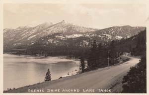 RP: LAKE TAHOE , California , 1920-30s ; Scenic Drive