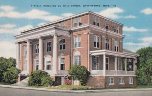 HATTIESBURG , Mississippi , 1930s-40s; Y.M.C.A. Building on Main Street