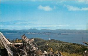 Point Ellice Washington~Astoria Bridge~Reaches Astoria Oregon shown Here~1960s