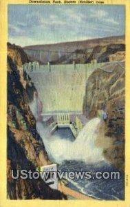 Downstream Face in Hoover (Boulder) Dam, Nevada