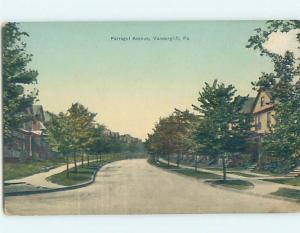 Divided-Back STREET SCENE Vandergrift - Near Pittsburgh Pennsylvania PA G5315