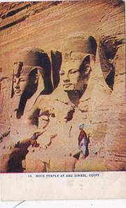 Egypt Rock Temple At Abu Simbel