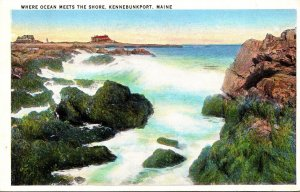 Maine Kennebunkport Where Ocean Meets The Shore 1937