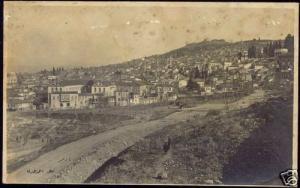 turkey, SMYRNE, Panorama from Mount Pagos (1920s) RPPC