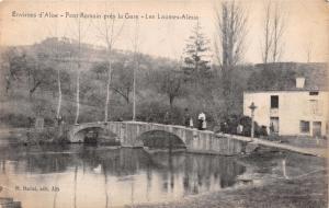 ENVIRONS d'ALISE FRANCE~PONT ROMAIN prés la GARE~LAUMES-ALESIA~M MARLET POSTCARD