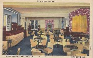 ST LOUIS , Missouri , 1930-40s ; New Hotel Jefferson , The Rendezvous ; Versi...