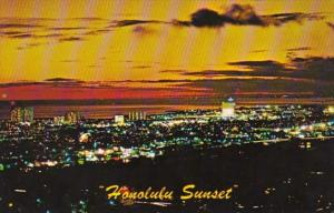 Hawaii Islands Honolulu Sunset