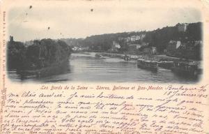 France Les Bords de la Seine Sevres, Bellevue et Bas-Meudon 1903