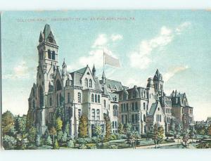 College Hall At University Of Pennsylvania Philadelphia Pennsylvania PA L8387