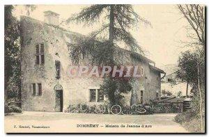 Old Postcard Domremy Maison de Jeanne d'Arc