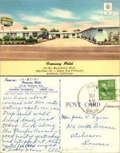 Freeway Motel, Anaheim, California (10004)