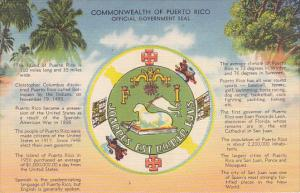 Puerto Rico Official Government Seal