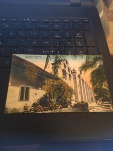 Vtg Postcard: San Gabriel Mission - Near Los Angeles California