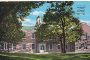 Illinois Rockford John Hall Sherratt Library Rockford College 1945