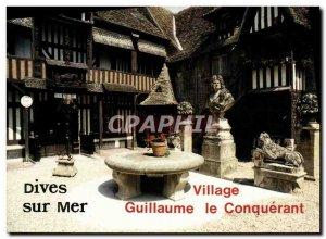Postcard View Of Modern Dives William the Conqueror Village