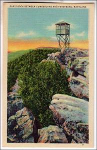 MD - Dan's Rock between Cumberland and Frostburg