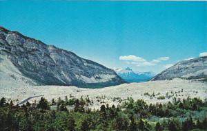 Famous Frank Slide Turtle Mountain Frank Alberta Canada