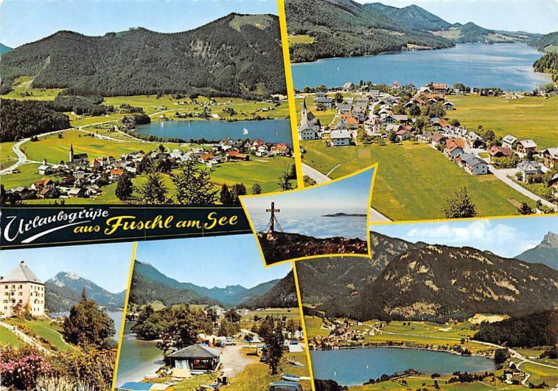 Fuschl am See multiviews Pension Gasthaus Panorama Lake Camping Place