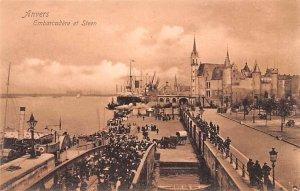 Embarcadere et Steen Anvers Belgium Unused