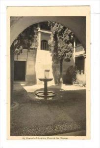 RP  GRANADA=Alhambra. Patio de los Cipreces, SPAIN, 00-10s