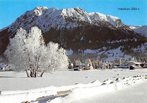 Oberstdorf im Allgaeu Nebelhorn Berg Winter Mountain Panorama