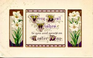 Greeting - Easter    Artist Signed: James E. Pitts