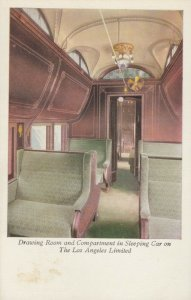 LOS ANGELES Limited Train , 00-10s ; Drawing Room Railroad Car