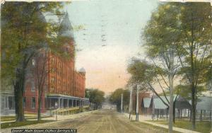 Clifton Springs New York~Lower Main Street~1911 Postcard