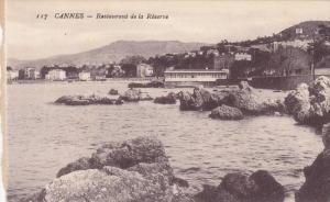 Restaurant De La Reserve, Cannes (Alpes Maritimes), France, 1900-1910s