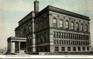 Iowa Des Moines Public Library