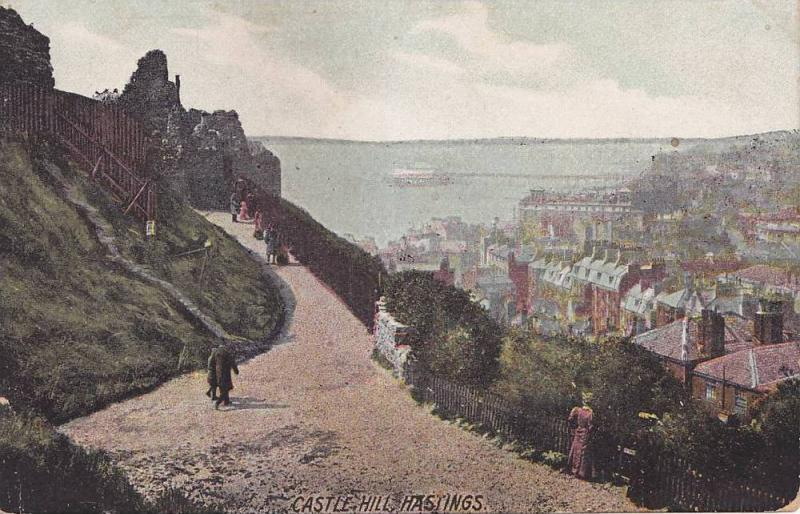 Castle Hill, Hastings, East Sussex, England, United Kingdom, 00-10s