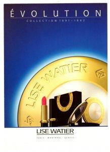 5 X 7 inch, Evolution, Lise Watier Lipstick, Eaton's, 1992 Vintage Advertising