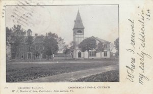 FAIR HAVEN , Vermont , 1905 ; Graded School and Congregational Church