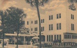 DAYTONA BEACH , Florida , 1930s ; Shalimar Hotel