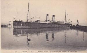 SAINT NAZAIRE , France , 00-10s ; Ocean Liner Arrival