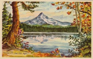 MT. HOOD, Oregon, 1920-30s; From Lost Lake