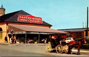Louisiana New Orleans Cafe Du Monde